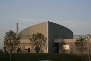 Centro de Ciencia y Tecnología del Parque Tecnológico de Andalucía. Aspecto general (foto Francisco Rodríguez Marín)