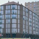 Edificio de viviendas del Banco Exterior de España. Alameda de Colón