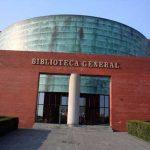 Biblioteca General de la UMA. Acceso principal (foto Francisco Rodríguez Marín)