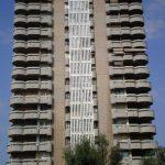 Edificio viviendas para trabajadores de Obras Públicas. (Foto Francisco García Gómez).