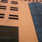Aparcamiento Tejón y Rodríguez. Detalle fachada principal. (Foto Francisco García Gómez).