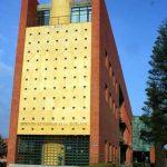 Biblioteca General de la UMA. Fachada lateral Oeste (foto Francisco Rodríguez Marín)