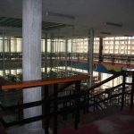 Antigua Universidad Laboral. Biblioteca (foto Francisco Rodríguez Marín)