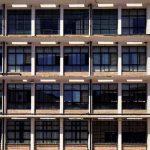Instituto Pedro Espinosa. Detalle fachada aulas hacia patio interior (foto: J.C. Cazalla