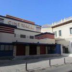 Teatro cine Torcal. Junto a la sede de la antigua Caja de Ahorros de Antequera. (foto: G. Marín)