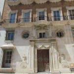 Antiguo Palacio de Justicia. Fachada lateral detalle (foto: G. Marín)