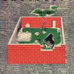 1968-1972. Superior: planta de la vivienda