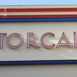 Teatro cine Torcal. Detalle rótulo (foto: G. Marín)