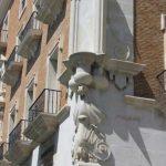 Antiguo Palacio de Justicia. Detalle ornamental esquina (foto: G. Marín)
