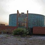 Biblioteca General de la UMA. Fachada lateral Este (foto Francisco Rodríguez Marín)