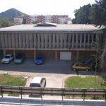 Antigua Universidad Laboral. Vista parcial exterior (foto Francisco Rodríguez Marín)