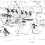 Plano general de la urbanización Eurosol, en Torremolinos (Archivo Rafael de La-Hoz).
