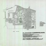 Proyecto de urbanización Playamar, Torremolinos. Plano de conjunto (Estudio Lamela).