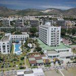 Vista aérea del hotel Pez Espada, en Torremolinos.