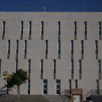 Centro Andaluz de Investigación en Tecnologías Informáticas (CAITI). Fachada lateral (foto Francisco Rodríguez Marín)
