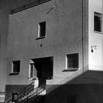 Fachadas posterior y lateral del Antiguo Colegio de Huérfanos Ferroviarios de Torremolinos. Fotografías antiguas en la página web de la Agrupación de Antiguos Alumnos del Colegio de Huérfanos Ferroviarios.