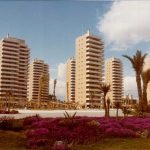 Urbanización Playamar, Torremolinos, fotografía del Estudio Lamela.