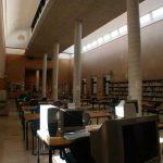 Archivo Histórico Provincial de Málaga. Sala de investigadores. Detalle (foto Rodríguez Marín)