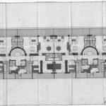 Plantas 3ª y 4ª de uno de los bloques tipo de la 1ª fase del proyecto de urbanización Eurosol, en Torremolinos (Archivo Rafael de La-Hoz).