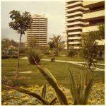 La urbanización Playamar, Torremolinos, en una fotografía de hacia 1970 conservada en el Archivo Municipal de Málaga.