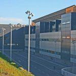 Escuela de Ingenierías de la UMA. Fachada posterior. Vista parcial (foto Rodríguez Marín)