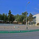 Facultad de Medicina de la UMA. Portada de acceso (foto Rodríguez Marín)