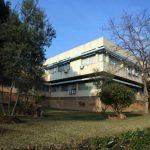 Facultad de Medicina de la UMA. Detalle de la fachada principal (foto Rodríguez Marín)