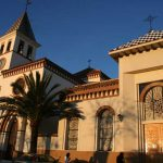 Iglesia Parroquial de Ntra. Sra. de los Dolores (Puerto de la Torre). Fachada principal (foto Rodríguez Marín)
