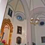 Iglesia Parroquial de Ntra. Sra. de los Dolores (Puerto de la Torre). Iglesia antigua. Interior (foto Rodríguez Marín)