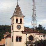 Iglesia Parroquial de Ntra. Sra. de los Dolores (Puerto de la Torre). Exterior. Detalle (foto Rodríguez Marín)