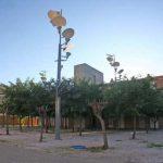 Residencia Universitaria de la UMA. Espacio ajardinado interior (foto Rodríguez Marín)