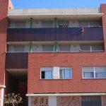 Edificio de viviendas en calle Escritor Antonio Soler nº.3. Detalle de la fachada Oeste (foto Francisco Rodríguez Marín)