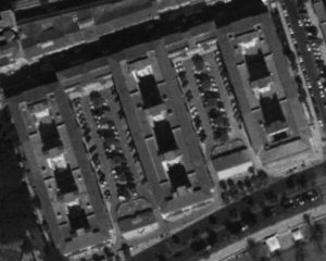 Casas de Cantó. Vista aérea ca. 1977 (Ortografía Digital Histórica de Andalucía)