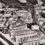 años cuarenta. Bloques en construcción (Archivo Municipal de Málaga)