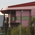 Cooperativa Farmacéutica Malagueña. Fachada principal. Detalle (foto Francisco Rodríguez Marín)