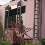 Cooperativa Farmacéutica Malagueña. Detalle de la fachada principal (foto Francisco Rodríguez Marín)