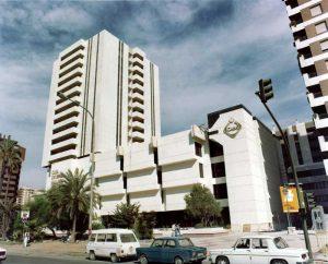 Edificio de Unicaja. (Foto Antonio Santana Guzmán).