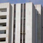 Edificio de Unicaja. Detalle de la torre. (Foto Francisco García Gómez).
