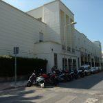 Edificio de la Escuela de Magisterio y su Aneja (1952-1961). Esquina de la calle El Ejido con la Plaza de El Ejido ( Cristóbal Rengel Mariscal